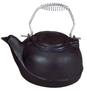 Uniflame Cast Iron Humidifier with Chrome Handle