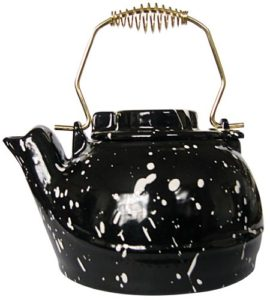 Uniflame Porcelain Coated Speckled Kettle
