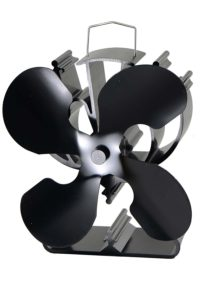 Heat Powered 4 Blade Stove Fan