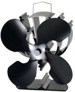 4-Blade Heat Powered Stove Fan