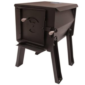 "England's Stove Works Survivor ""Grizzly"" Portable Camp/Cook Wood Stove"