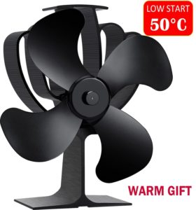 Aobosi Heat Powered Stove Fan