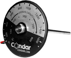 Condar Dutchwest Stove Catalytic Probe Thermometer