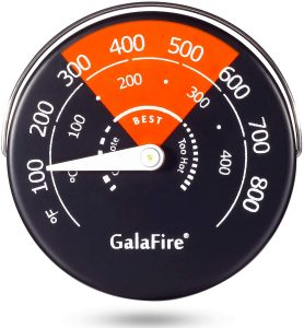 Galafire stove thermometer
